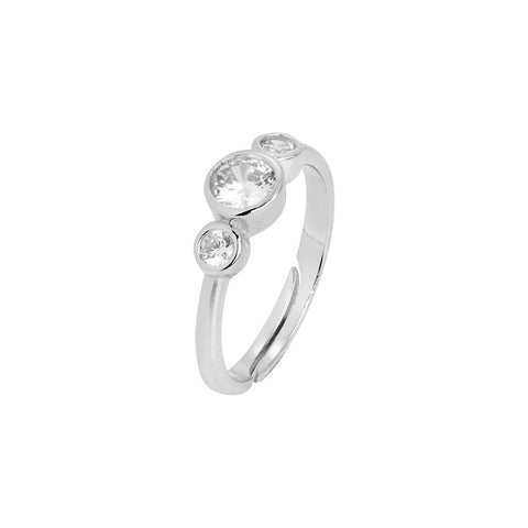 Related product : Ring with zircons degradè Diamond Cut