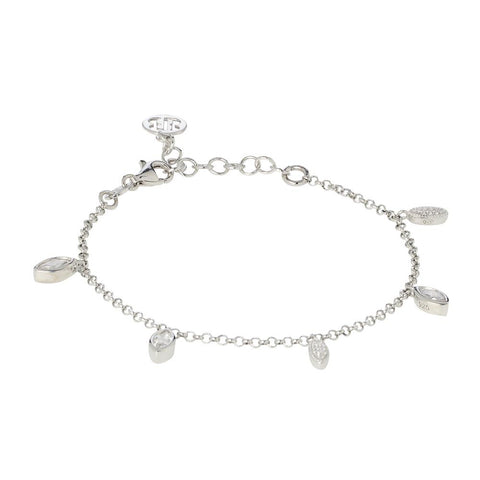 Related product : Bracelet with zircons brilliant cut