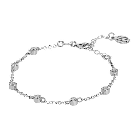 Related product : Bracelet with zircons diamond cut