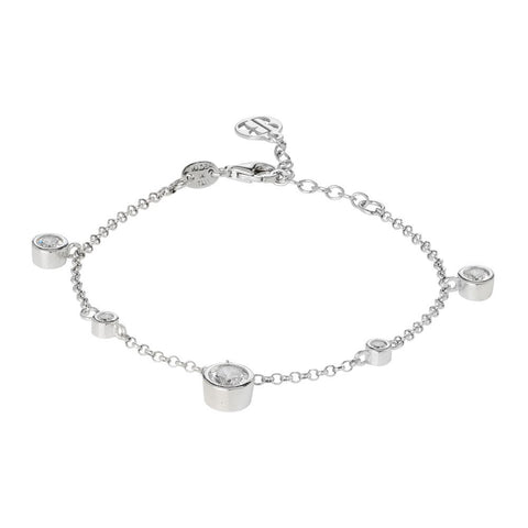 Related product : Bracelet with pendants and passing of zircons diamond cut