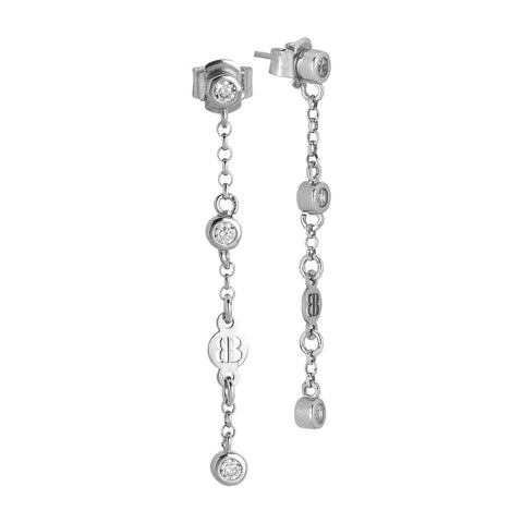 Related product : Earrings Pendant with zircons diamond cut
