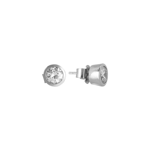 Related product : Orecchinini lobe with zircon diamond cut