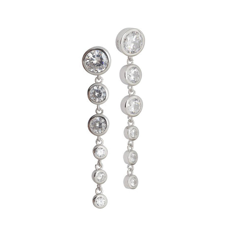 Related product : Earrings with zircons degradè Pendants