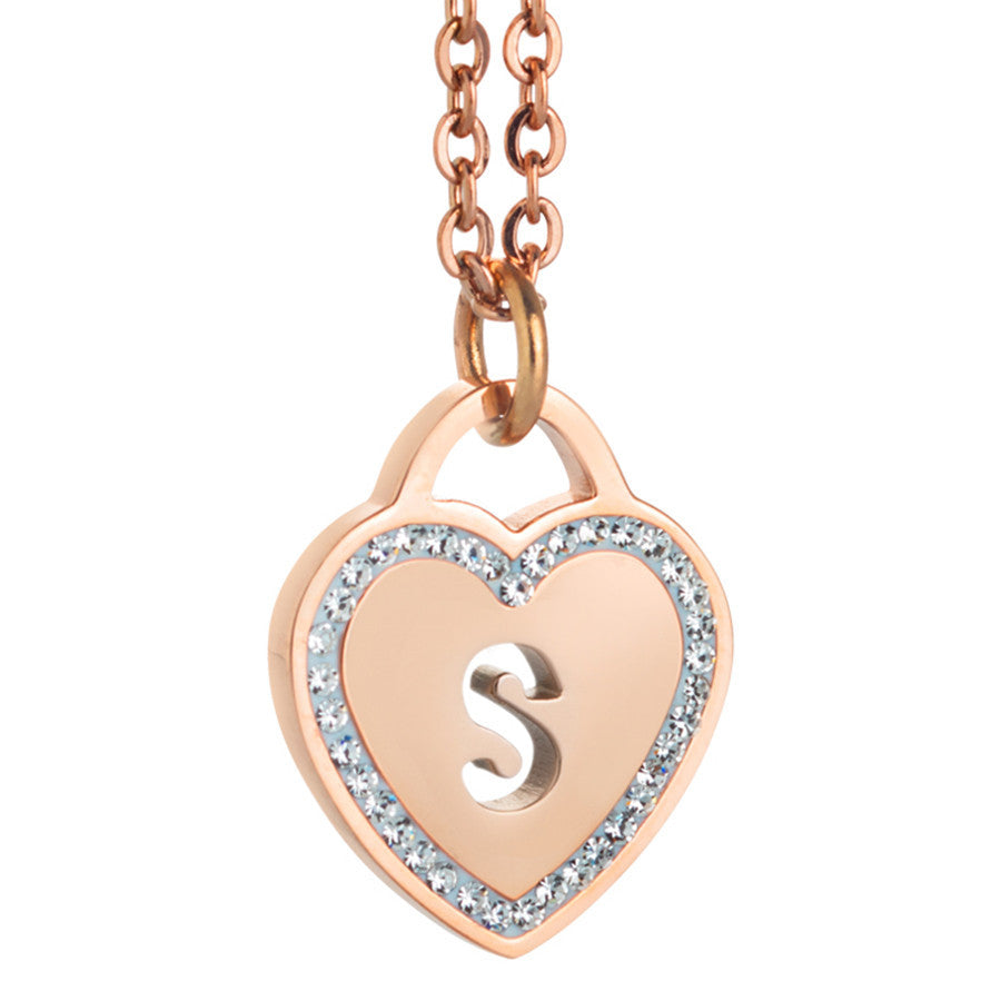 sterling s necklace letter fashion trendy charm buy aliexpress zuan party gemstones wedding jewelry store com l product silver working from women pendant i
