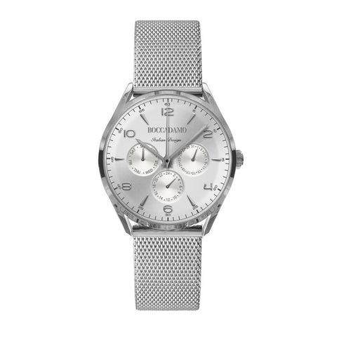 Related product : Clock multifunction vintage with silver dial