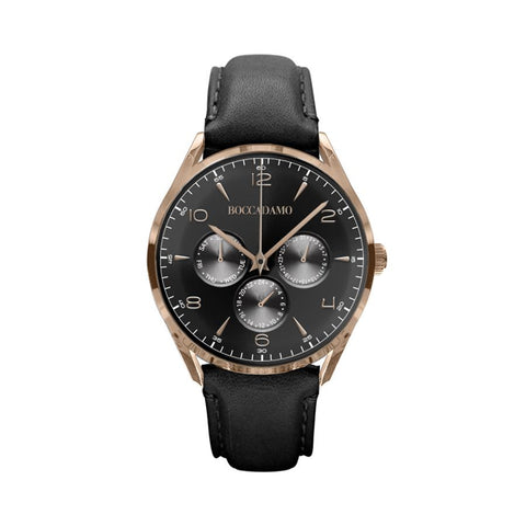 Related product : Clock multifunction vintage with a leather strap and black dial