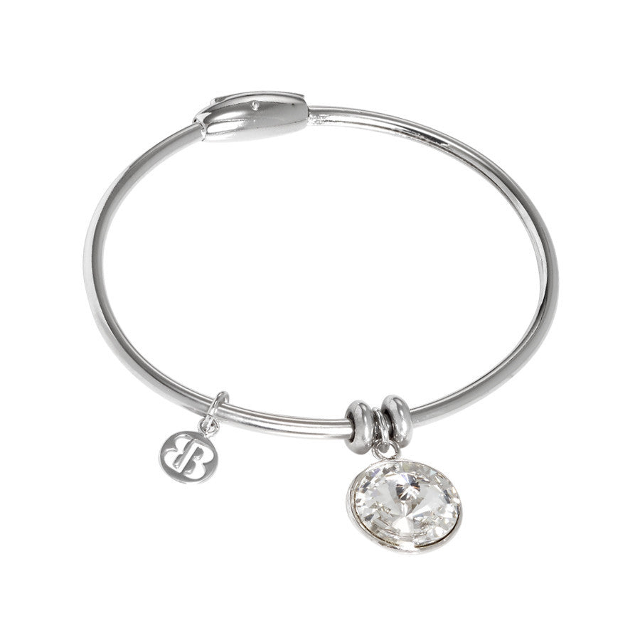 Bracelet with charm in the crystal Swarovski crystal