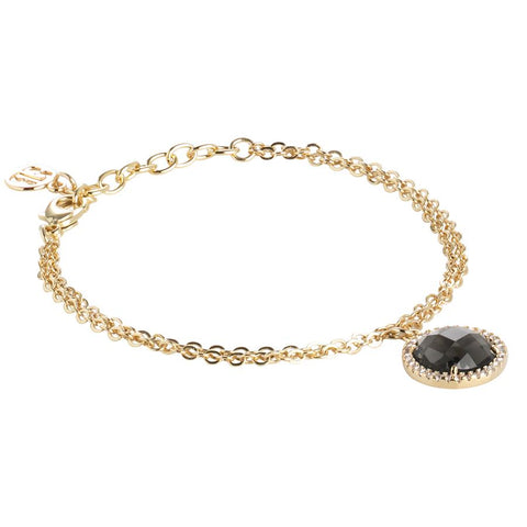 Related product : Bracelet with crystal smoky quartz and zircons
