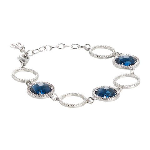 Related product : Bracelet with crystals Montana and zircons