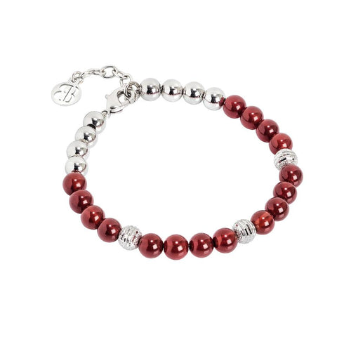Bracelet with pearls of cormiola