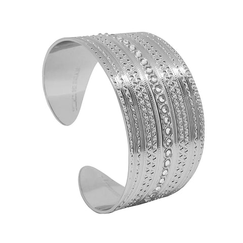 Related product : Bracelet to wide band with decorations of the Etruscans and Swarovski
