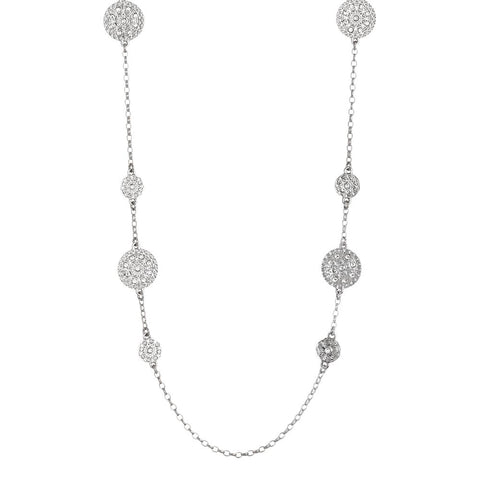 Related product : Long necklace with decorations of the Etruscans and Swarovski