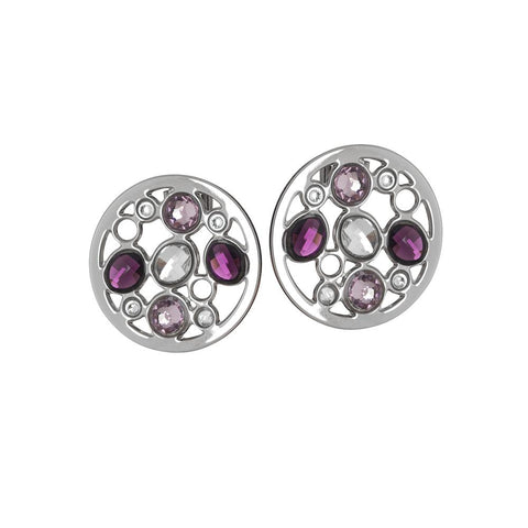Related product : Earrings rodiati lobe with Swarovski
