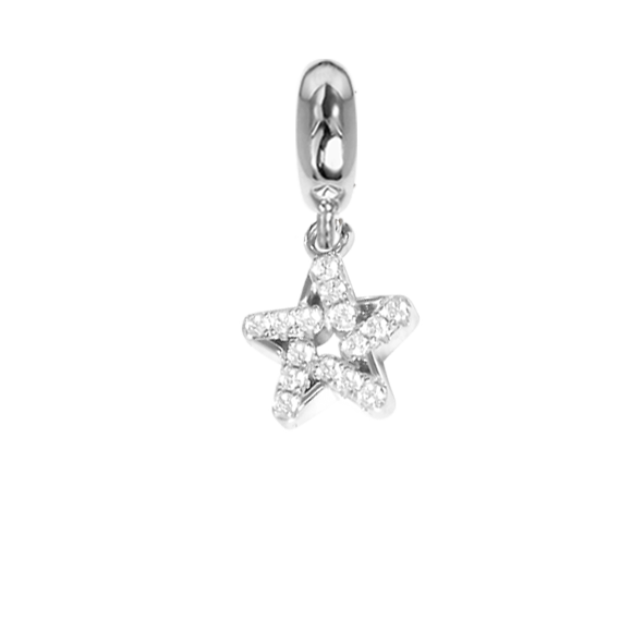 Charm in the shape of a Star with zircons