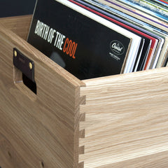 Dovetail Record Crate - VMP