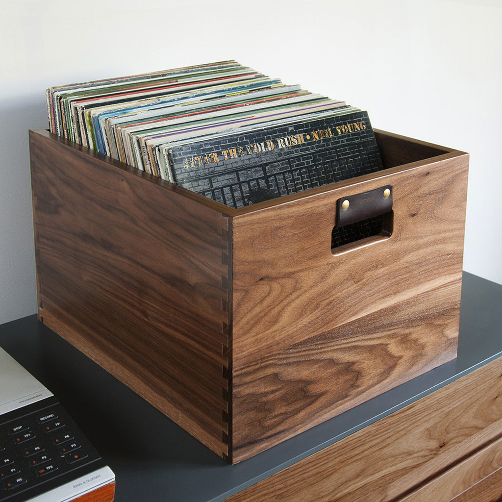 Dovetail Record Crate Symbol Audio