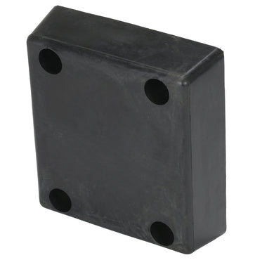 Vestil Molded Rubber Bumper - W - 13 in x H - 4 in x D - 12 in - Model B-1213-4