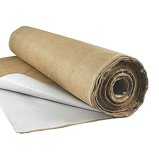 Poly Burlap Curing Blanket - 10 ft  x  100 ft  Roll