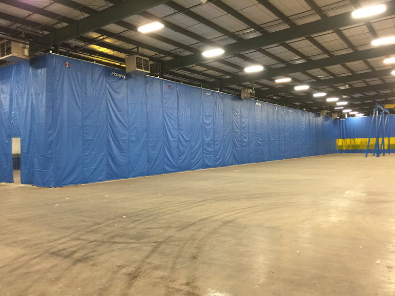 Insulated Curtain Walls - Insulated Warehouse Curtains