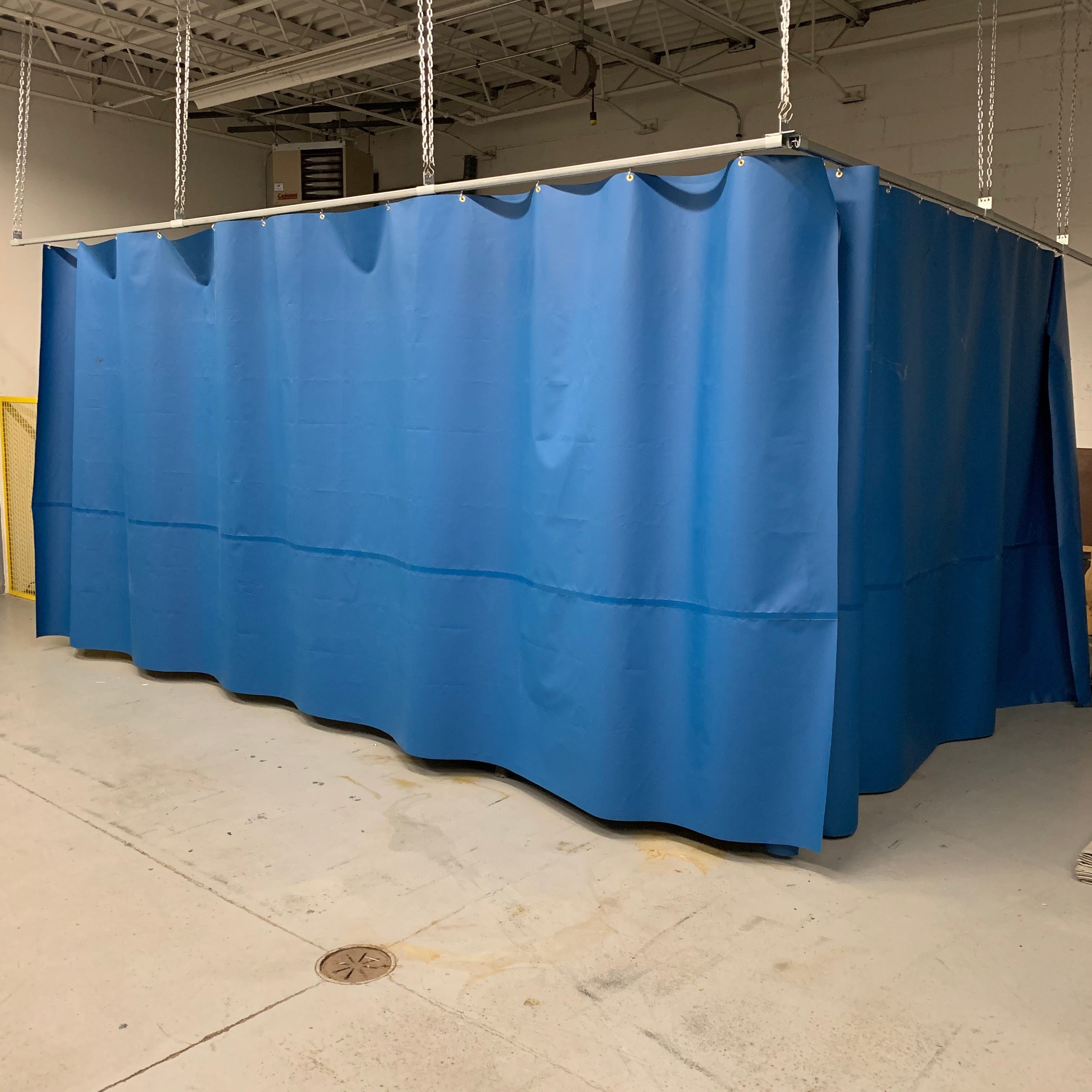 Industrial Curtain Walls, Vinyl Partitions - Solid Panel