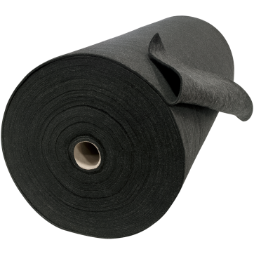 Carbon Fiber Welding Blanket Roll in Black like Velvet Shield