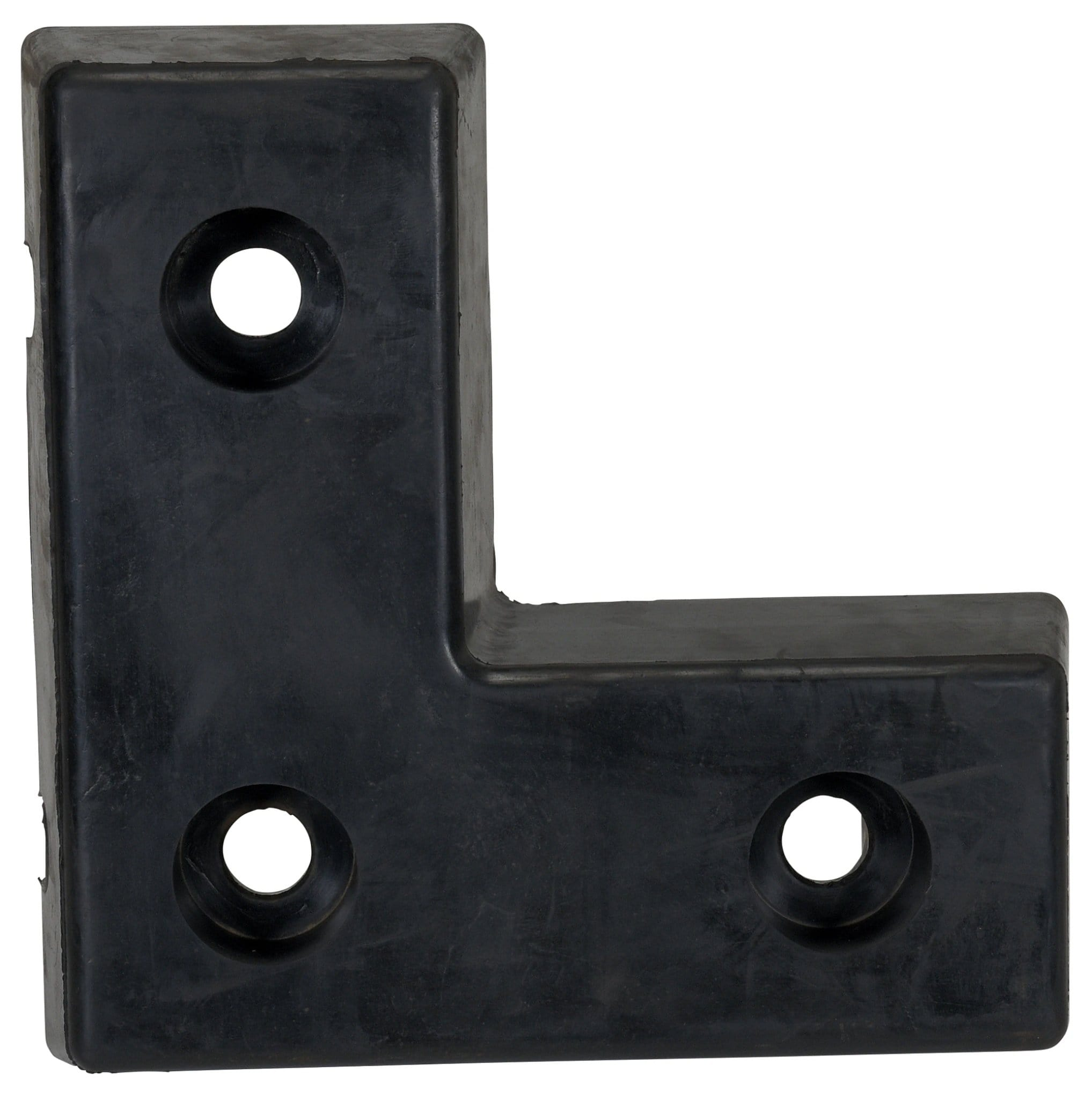 Vestil Molded Rubber Bumper L-Shape - W - 18 in x H - 18 in x D - 4 in - Model L-1818-4