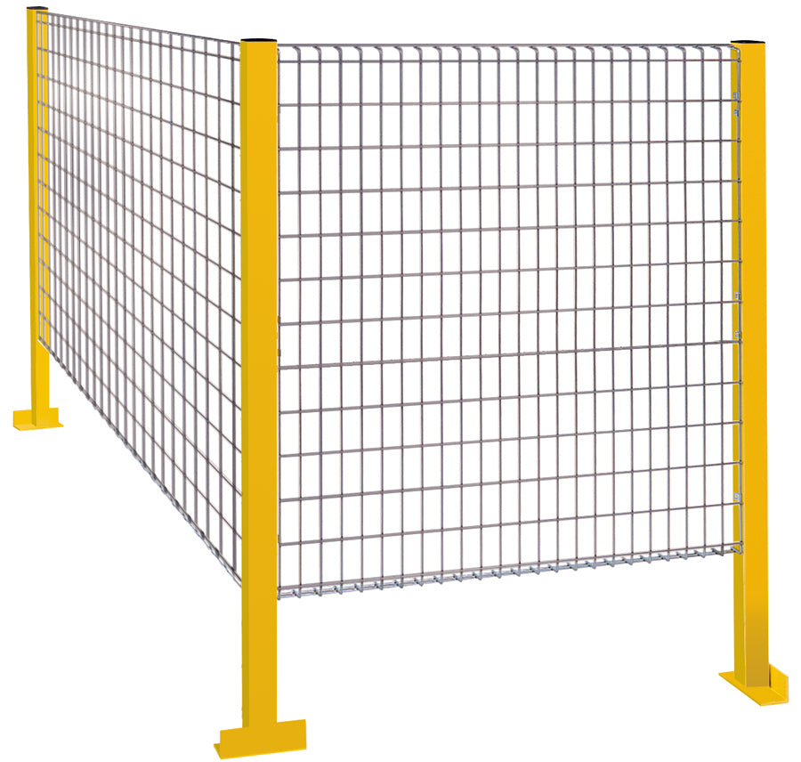 Machine Guard Safety Fence - Wire Partitions - Economy