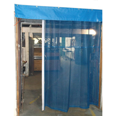 Warehouse Dock Door Bay Screens in Mesh to keep Best and Contaminants Out