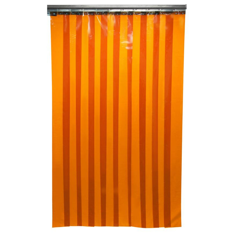 Welding Strip Curtains & Door Kits - Orange / Red