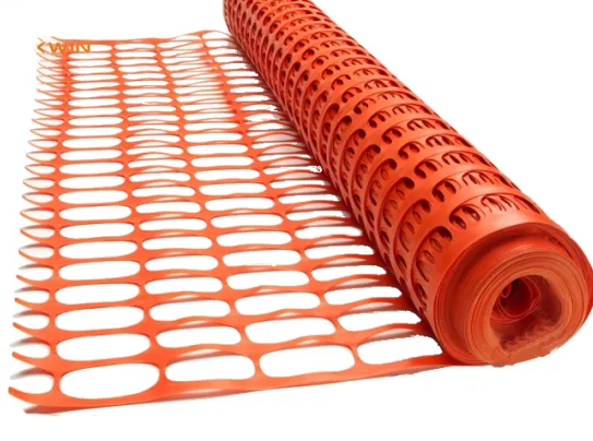 Snow Fencing Orange - Plastic Safety Fence