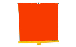 Roll Up Welding Screens, Mobile Weld Curtains