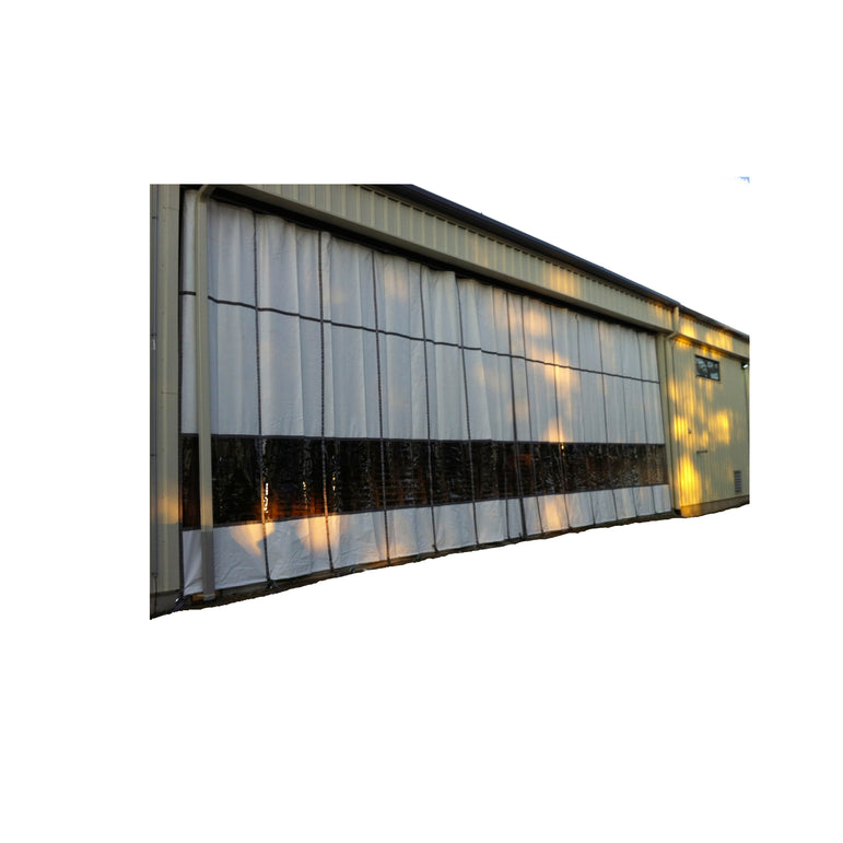 Outdoor Industrial Curtains - Exterior Curtain Walls