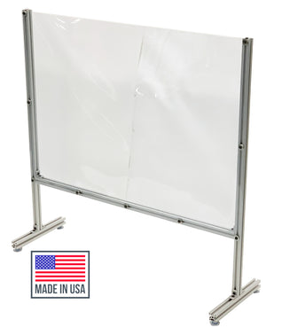 Portable Sneeze Guard made in the USA