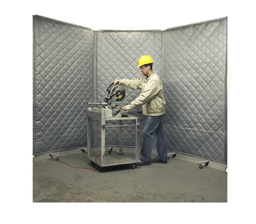 Acoustic Screens used in Cutting Operation