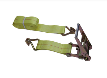 Heavy Duty Ratchet Straps w/ Wire Hooks - 2 in, 4 in - Long Handles