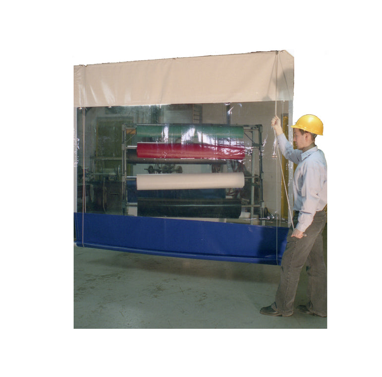 Industrial Roll Up Vinyl Curtain Wall for Factories