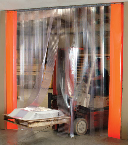 PVC Strip Curtains and Strip Door Kits