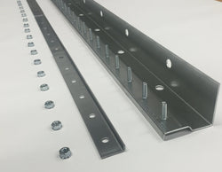 Universal Mount Strip Curtain Hardware