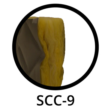 Noise Reduction Curtain Rolls 2 in Thick, SCC-9