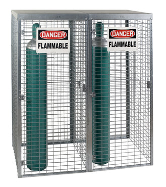 Gas Cylinder Lockers - Saf-T-Stor