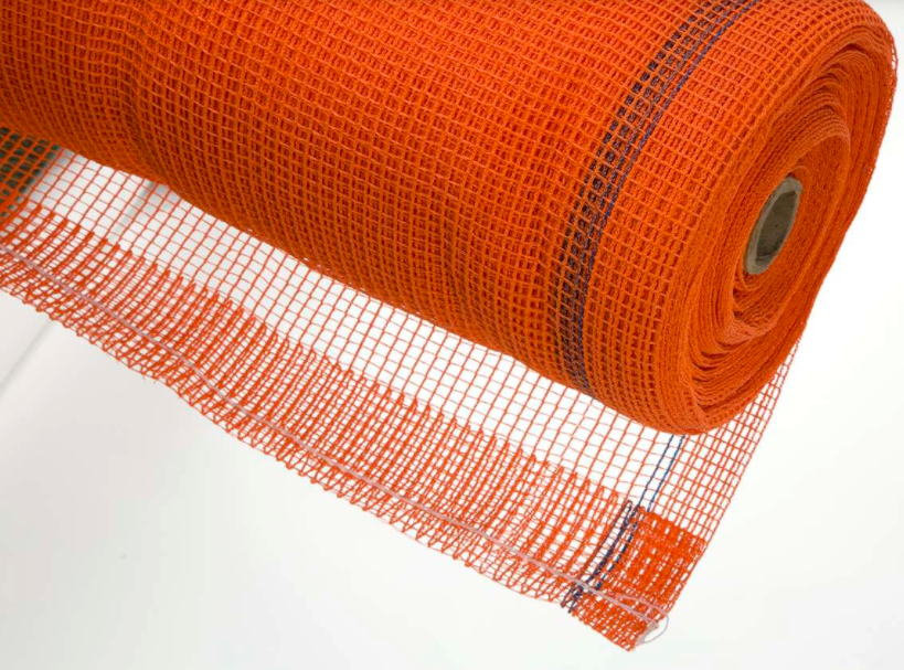 Orange Scaffold Safety Netting Roll SBN-22 from Strong Man