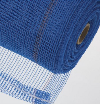 Safety Netting - Fire Retardant - Blue