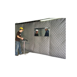 Soundproof Curtains in Factory for Industrial Noise Control