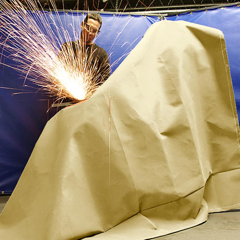 Welding Blankets - Uncoated Fiberglass - ArcTex - Off White 36 oz