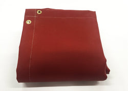 Silicone Coated Fiberglass Red Spark Welding Blanket