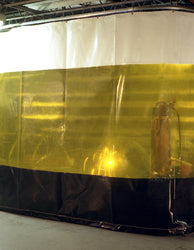 Retractable Welding Curtains - Welding Curtain Walls