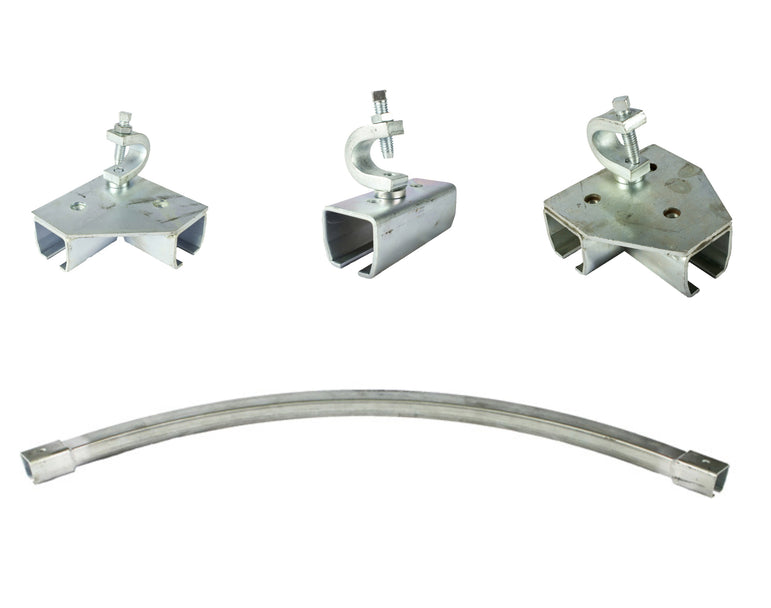 Industrial Curtain Track Hardware - Beam Flange
