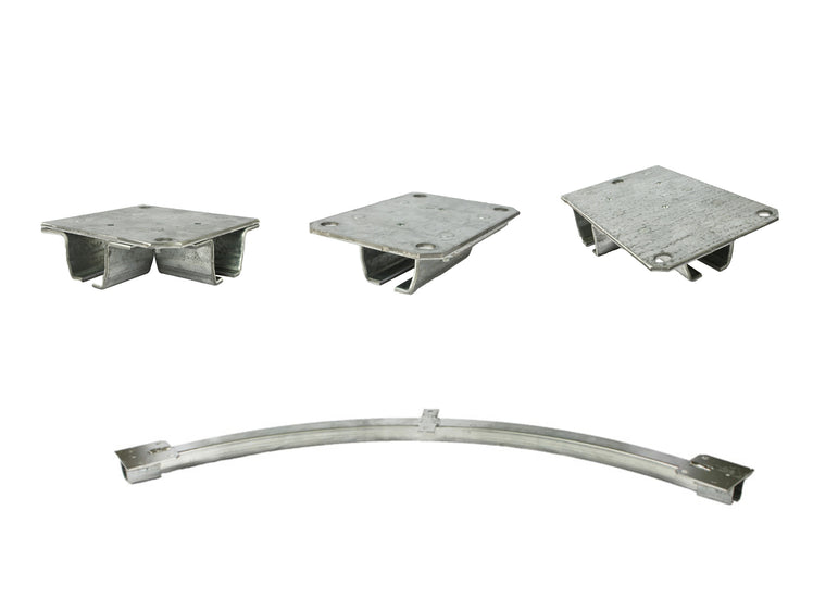 Industrial Curtain Track Hardware - Ceiling