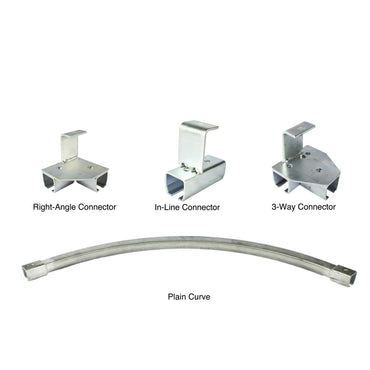 Industrial Curtain Track Hardware - Threaded Rod