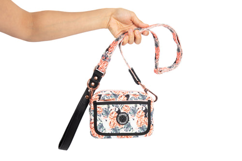 Luxury Cockatoo Hip Bag and Lead Combo